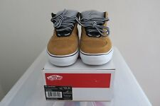 Supreme Vans Mike Carroll Size 12 Tan Brown Suede AQ0666-100 New