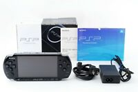 Sony PSP 3000 Black Handheld System Console w/ Box and Charger Japan [Excellent]