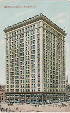 Nicholas Building at 608 Madison Avenue in Downtown Toledo, Ohio in Early 1900's
