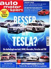 auto motor und sport 24/2018: Besser als Tesla? Audi, BMW, Mercedes, Porsche, VW