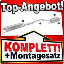 Auspuff PEUGEOT 406 2.0 Coupe Stufenheck 05.2000-2004 Auspuffanlage 408