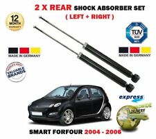 FOR SMART FORFOUR 1.1 1.5 CDi 2004-2006 2X REAR LEFT + RIGHT SHOCK ABSORBER SET