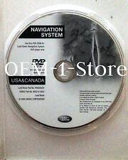 05 06 2007 LAND RANGE ROVER LR3 HSE SPORT UTILITY NAVIGATION NAV MAP DISC CD DVD