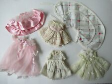 8 In American Character Betsy Mccall Doll Clothes-Cape,3 Dresses,Skirt- 6 Pcs