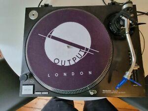 Technics 1210 mk2 + ortofon stylus and cartridge  + Dust cover