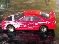 Hot Wheels 2001 Honda Civic Si Coupe Red Mesh Wheel Variant Rare Hard To Find