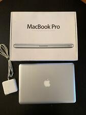 APPLE MACBOOK PRO 13 PRE-RETINA i5 *UPGRADED TO 8GB RAM+240GB SSD And 500GB HDD