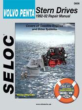 VOLVO PENTA STERNDRIVE SERVICE  REPAIR MANUAL 1992 TO 2002 SELOC 3606