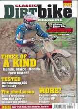 CLASSIC DIRT BIKE-No.18/2011-(NEW COPY) *Post included to UK/Europe/USA/Canada