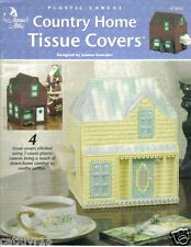Country Home Tissue Covers  ~ plastic canvas pattern book ~ RARE ~