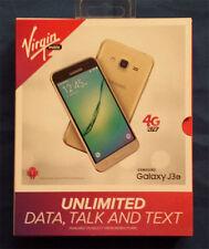 "Samsung Galaxy J3 Gold  Virgin Mobile prepaid 16gb 1.5gb ram 5"""