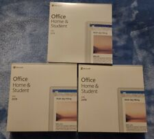 Microsoft Office Home and Student 2019 **3 PCs ** *NOT FOR APPLE MAC*