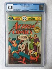CGC 8.5 ACTION COMICS #451 .. SUPERMAN .. GREEN ARROW .. BLACK CANARY ..