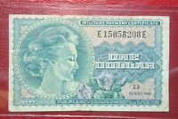 US SERIES 692 $1 MPC MILITARY PAYMENT CERTIFICATE - NICE VF/XF!