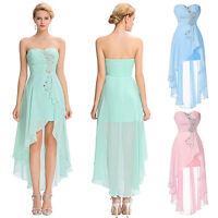 Sequins Chiffon Ball Evening Prom Party Dress Homecoming Bridesmaids Wedding