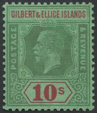 GILBERT AND ELLICE KGV Scott 31 SG35 Lightly Hinged cv