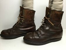 VTG MENS GOLD BOND WORK BROWN BOOTS SIZE 9?