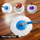 2/4/8x Replacement Mops Micro Head Refill For 360° Spin Home Cleaning Magic Mops