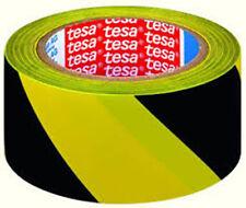 NASTRO 50MMX33MT GIALLO-NERO PER SEGNALAZIONI IN PVC TESA 60760