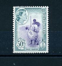 SWAZILAND 1961 DEFINITIVES SG87 50c  MNH