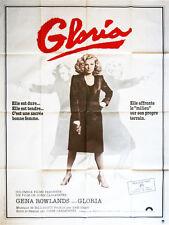 Affiche 120x160cm GLORIA (1980) John Cassavetes - Gena Rowlands, Buck Henry TBE#