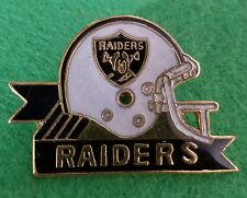 Oakland Raiders Helmet Los Angeles LA Vintage Lapel Pin Button Pinback