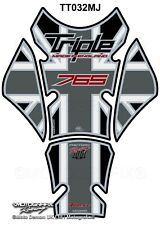 Triumph Street Triple 765 2017 18 19 Motorcycle Tank Pad Protector Motografix