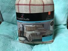 Cuddle duds Fleece Queen Sheet Set.  Brand New. Free Shipping.
