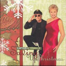 Captain & Tennille Saving Up Christmas RARE promo CD single '05 (SEALED - NEW)
