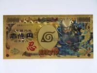 Billet Naruto Gold / Carte - Hatake Kakashi - Figurine Card Yen / Manga