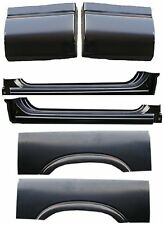94 04 Chevy GMC 6Pc Extended Rockers, Extended Cab Corners, Upper Wheel Arch Set