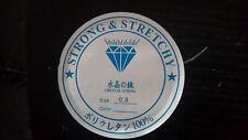 Elastic Crystal Thread, Clear, 0.6mm, 10.5 mtr roll,  Free postage Oz Seller
