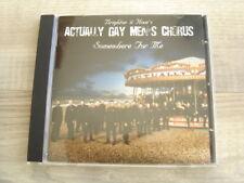 rock CD queer pop BRIGHTON & HOVES ACTUALLY GAY MEN'S CHORUS choral choir For Me