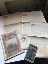 Gas Review 1917 Farm Tractor machinery 1873 Country Gentleman Newspapers 6 Pc