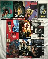 X-MEN / X-TITLES - TEN (10) ISSUE LOT - X-FACTOR, X-FORCE, MAGNETO, UNCANNY