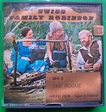 """Super 8 Home Movie Film, Sound & Colour: """"The Rescue"""" - Swiss Family Robinson"""