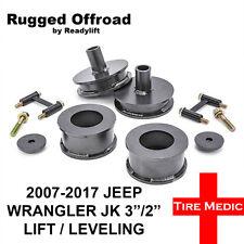 "RUGGED OFF ROAD 2007-2017 JEEP WRANGLER JK 3"" LIFT KIT 3/2"