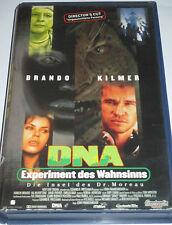 DNA - Experiment des Wahnsinns - VHS/Horror/Val Kilmer/Marlon Brando/Constantin