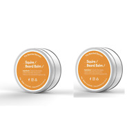 "Beard Balm 50g  Twin Pack ""SQUIRE"" by The Bearded Barman"