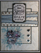 SPECIAL DAY -  Wedding/ Anniversary/ Birthday  - handmade card BY DEE