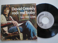DAVID CASSIDDY Rock Me Baby SPAIN 45 1973