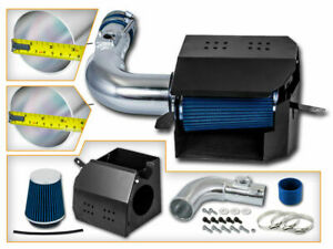 Heat Shield Air Intake Kit BLUE For 13-16 Scion FRS /13-20 BRZ /17-20 86 2.0