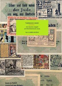 notgeld catalogue for anti-Semitic German/Austrian notgeld banknotes - book! A5!