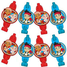 JAKE and the NEVER LAND PIRATES BLOWOUTS (8) ~ Birthday Party Supplies Favors