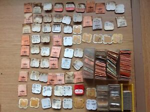 Vintage Watch Parts Pallets Staffs Stems More from Watchmakers Collection