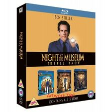 Night at The Museum 1 to 3 BOXSET Blu-ray Region B