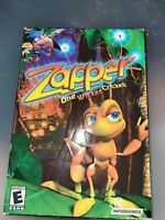 Vintage 2002 Zapper: One Wicked Cricket! PC Game Sealed