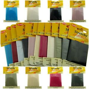 ** IRON-ON ELASTICATED STRETCHY PATCHES KLEIBER- (40cm x 6cm) - 100% POLYESTER