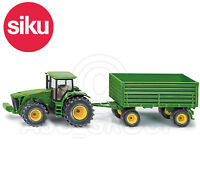 SIKU NO.1953 1:50 JOHN DEERE TRACTOR WITH TIPPING TRAILER Dicast Model / Toy