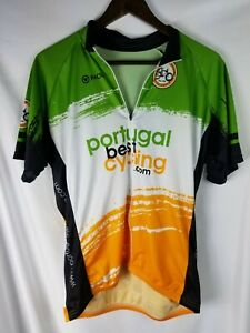 Portugal Best Cycling Jersey Size 3X Men's Multicolored Used